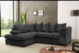 💯 Crushed Velvet or Jumbo Cord 3+2 Sofa set or Corner suite 😎