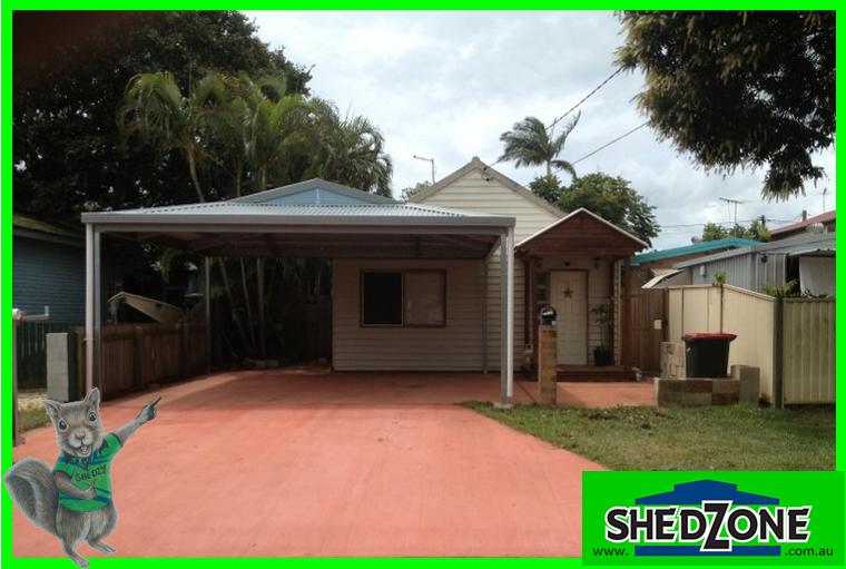 Shedzone Double Dutch Gable Carport Sheds Storage Gumtree Australia Logan Area Munruben 1079076080