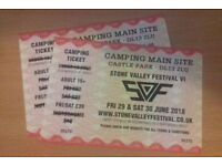 2 x Weekend Tickets Stone Valley Festival Main Site