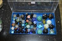 Roughly 200 Old Marbles
