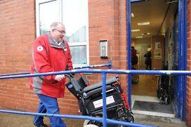 Mobility Aids Spoke Volunteer - Sheffield