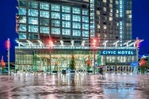 1 bedroom 1 bath at 3 Civic Plaza Central City.