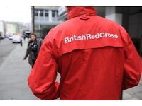 British Red Cross Fundraising Volunteer