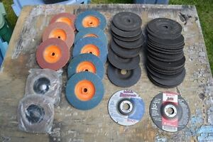 Hundreds of Cutting and Grinding Wheels