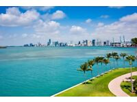 5 night SPRING BREAK in Miami for two (flights London to Miami)