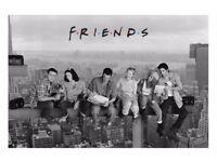"Friends ""Lunch On A Skyscraper"" Maxi Poster NEW SEALED jennifer aniston, matt leblanc, lisa kudrow"