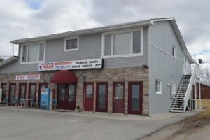 1400 square foot store for rent at Hwy 36 and Queen street