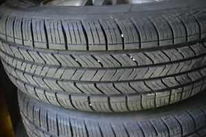 Set of Four All Season Tires On Alluminum Ri