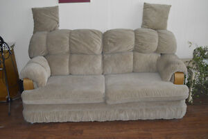 Soft Suede Couch Bed.