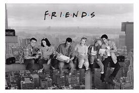 "Friends ""Lunch On A Skyscraper"" Maxi Poster NEW SEALED jennifer aniston, lisa kudrow, matt leblanc"
