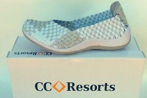 CC Resorts cloud comfort elastic SLIP ON walking shoe Sugar - 6 colours