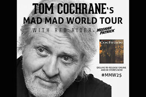Tom Cochrane & Red Rider Tickets for Sale (Liverpool June 28th)