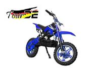 MINI MOTO POCKET BIKE CROSS ELECTRIC 10'' 800W TOURDE