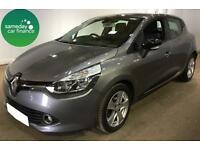 £154.06 PER MONTH GREY 2013 RENAULT CLIO 0.9 TCE DYNAMIQUE 5 DOOR MEDIA NAV