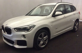 White BMW X1 2.0TD 4X4 2016 xDrive20d M Sport FROM £98 PER WEEK!