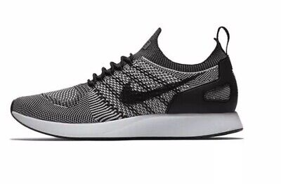 d5c3aab4a6a Men s Nike Air Zoom Mariah Flyknit Racer Running Shoe BLK WHT 918264 015  Size 10