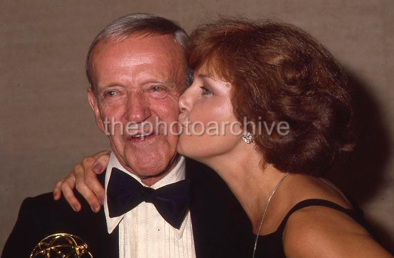 FRED ASTAIRE JOANNE WOODWARD CANDID 35mm Original 3 TRANSPARENCY LOT 526K