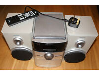 Philips MC146 Micro Hi-Fi Radio CD Sound System