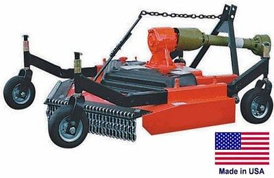 Finish Cut Mower - Commercial - 3 Point Hitch Mounted - Pto Driven - 48 Cut