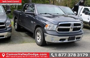 2013 RAM 1500 ST ONE OWNER, BLUETOOTH, KEYLESS ENTRY, TOW PAC...
