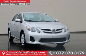 2013 Toyota Corolla LE HEATED SEATS, SUNROOF, CD PLAYER, KEYL...