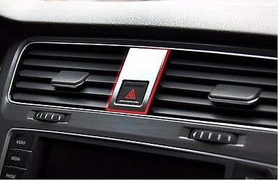 Car Double jump lamp decoration sticker for VW Golf 7 MK7 GTI 2013~2015