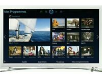 """White Samsung 32"""" LED smart wi-fi built HD freeview full HD 1080p"""