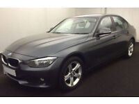 Grey BMW 316 2.0TD 2014 d SE FROM £45 PER WEEK!