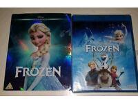 BRAND NEW sealed FROZEN Disney Blu-ray DVD
