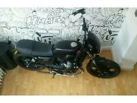 Moto Guzzi v7ii Black custom very low miles