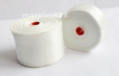 2pcs Fiberglass Cloth Tape E-glass Wide 20mm Wl20mm X 30m Fiber Plain Weave