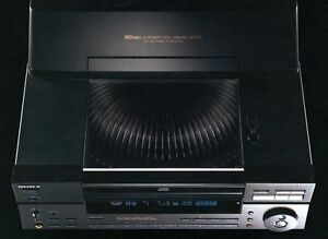 DISK MEGASTORAGE STEREO CD PLAYER/CHANGER SONY CDP-CX100 CD-10 West Island Greater Montréal image 4