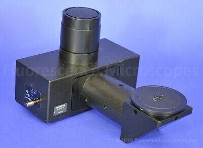 Olympus U-dpt-2 Dual Port Camera Adapter For Bx Series Microscope