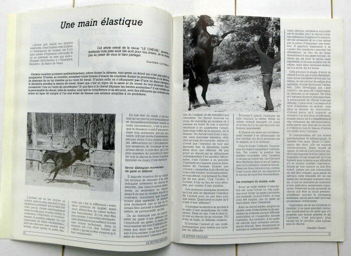 Lot de 2 n° club du setter anglais laverack n°30 - 31 1986 chien d'arrêt chasse