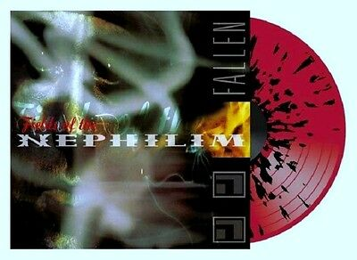 FIELDS OF THE NEPHILIM Fallen - LP / Red Black Splatter Vinyl - RSD 2015