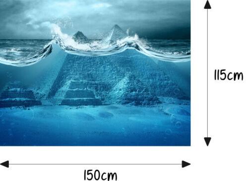 Pyramide Ägypten Unter-Wasser Motorhaube Auto-Aufkleber Steinschlag-Schutz-Folie