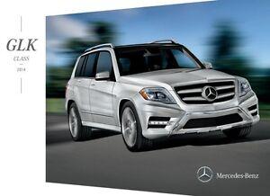 2014 mercedes benz glk class glk250 glk350 20 page sales for Mercedes benz glk350 accessories