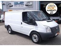 2013 FORD TRANSIT SWB 330 73,000 MILES LARGE 5.3 TON TRAIN WEIGHT FOR TOWING CAP