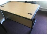 Budget Straight Office Desk- 1200mm