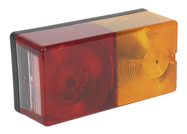 Sealey Rear Rectangular Lamp Cluster 4-Function 12V with Bulbs TB192