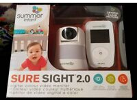Summer infant 2.0 video baby monitor