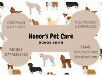 Honors Pet Care & Dog Walking in Chedburgh, Wickhambrook, Bury St Edmunds & Surrounding Villages