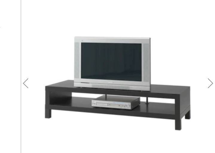 Black/brown tv stand