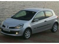 Renault clio mk3 breaking silver (2005-2009)