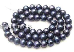 7-8mm-Natural-Black-Freshwater-Pearl-Loose-Bead-15-383