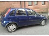 Vauxhall corsa. Blue diesel. Super cheap tax. Incredible mpg