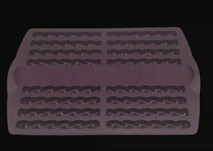 Tupperware Silicone Baking Mold Purple Silicone Stick Forms New set of two.