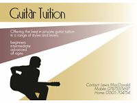 Guitar Tutor to help all players of all abilities reach their musical goals