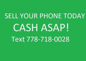 Sell Your Phone Now! New, Used, Blacklisted, and Parts For Cash