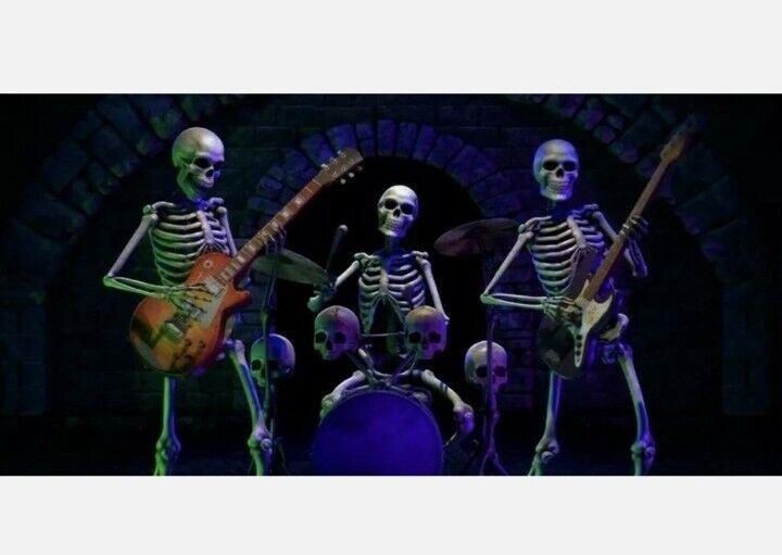 Halloween Decoration Media Bone Chillers 1 + 2 Projection